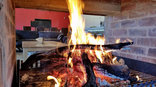Shakama Game Lodge - Valley Lodge Fire place
