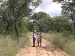 Shakati Game Reserve - Own walks are allowed