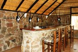 Shakati Private Game Reserve - The cosy bar in the lodge complex