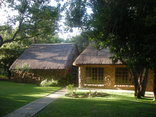 Shakati Game Reserve - The lodge complex