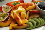 Umbrella Tree House - Fresh fruit platter