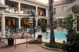Cocomo Guesthouse, Spa and Conference Centre - beach themed courtyard and Romantic Gazebo