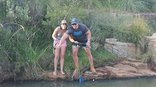 Woodridge Palms Boutique Hotel - Fishing in pond