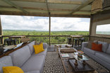 Zululand Lodge - View from the bar lounge