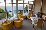 The Fernery Lodge & Chalets - Restaurant with sea view