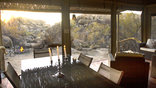 Erongo Wilderness Lodge - 2-Tented Suite's private dining/lounge/relaxation area