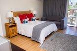 Bay Lodge  - Room 4 Bedroom and Balcony