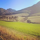 Aleandrii Farmstay - On route to Aleandrii in the Swartberg Mountains
