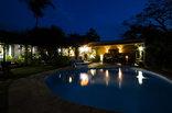 Maputaland Guest House - Pool @ night
