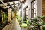 Maputaland Guest House - Rooms veranda to Garden