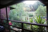 Woodland Gardens - Kingfisher deck veranda view