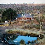 Nambiti Plains Private Game Lodge - Lodge Aerial view