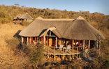 Nambiti Plains Private Game Lodge - Honeymoon Suite Aerial view