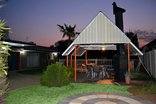 Pebble Fountain Guesthouse - Undercover braai area