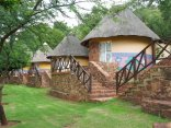Olifants River Lodge - Thatched Rondavels