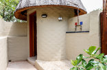 Shikwari Game Reserve - Hornbill Rondavel - Bush Bathroom