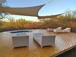 Thulani Game Lodge & Eco Estate - Bottom Pool deck