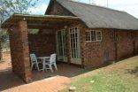 Manyane Resort - Outside area of the 2 Bed Studio Room
