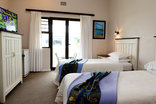 Riviera Hotel Velddrif - Twin bedroom with private patio