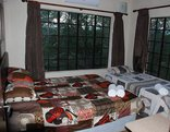 Simcha Lodge - One of the Bedrooms with a Queen Size Bed
