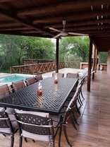 Simcha Lodge - Downstairs Veranda