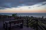 Khaya La Manzi Guest Lodge - Sunrise from the deck