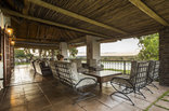 Buhala Lodge - The veranda