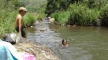Ledges Retreat Guest Farm - Swimming in the Langkloof