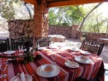 Pumula Lodge Modimolle - Dining table at Themba