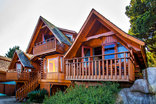 Abalone Lodges - Semi-detached Log cabin & Double Storey Log cabin