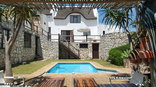 Arniston Lodge - Pool & Garden area