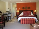 Rivonia Bed & Breakfast - A luxury room with a mini-kitchenette