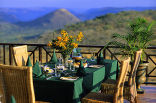 Pakamisa Private Game Reserve - Breakfast setting