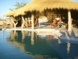 Rostock Ritz Desert Lodge - Swimming pool with lapa