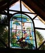 Knysna Log Inn - Stained glass window