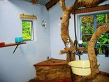 Kurisa Moya Nature Lodge - The Farmhouse Tree shower