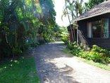 Lai-La log Cabins - Driveway