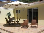 Constantia Cottages - Cottage Chardonnay - Patio with Garden Furniture