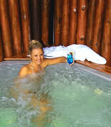 Knysna Log Inn - Jacuzzi