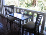 St Lucia Wetlands Guest House - Breakfast Balcony