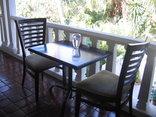 St Lucia Wetlands Guest House - Breakfast Balcony