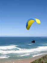 Brenton On Sea Cottages - Paragliding at Brenton