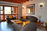 Kruger Park Lodge - Golf Safari SA - Lounge of chalet 234
