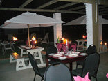 Baviaanskloof - Zandvlakte Farm - Dinner on the stoep