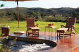 Botlierskop Private Game Reserve - Splash pool at Executive Tented Suite