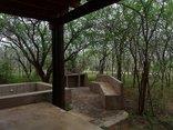 Kruger View Cottage - Verandah, splash pool and braai area