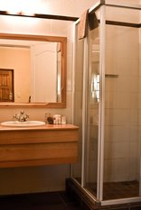Tzaneen Country Lodge - Standard room shower