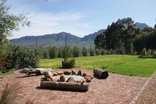 Orchards Guest Farm - The boma in front of the house
