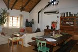 Orchards Guest Farm - Dining and living area.