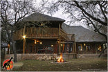 a Zaganaga Kruger Lodge - Front view of lodge